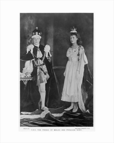 The Prince of Wales and Princess Mary by Campbell Gray