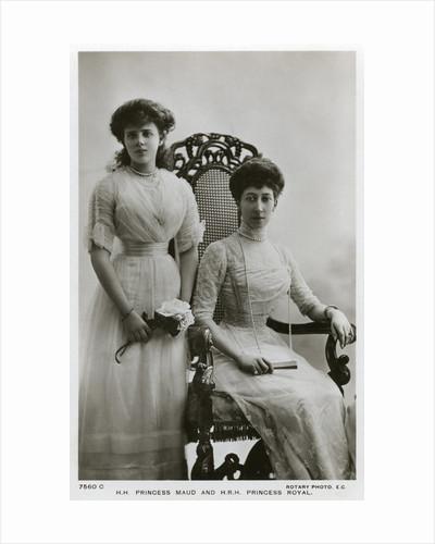 Princess Maud and the Princess Royal by Anonymous
