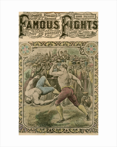 The fight between Tom Spring and Bill Neat by Pugnis