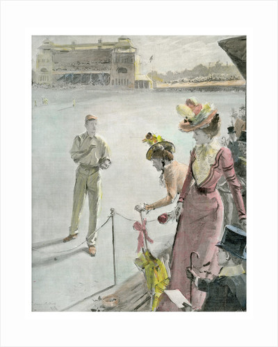 Eton v Harrow at Lord's: A Boundary Hit by Anglo