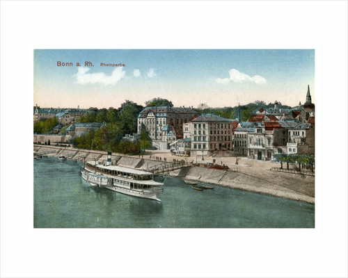 Bonn and the River Rhine by Anonymous