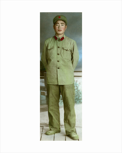 Chinese military uniform by Anonymous