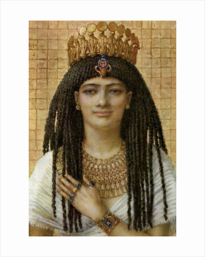 Mutnezemt, Ancient Egyptian queen of the 18th dynasty by Winifred Mabel Brunton