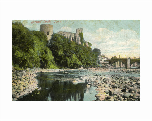Barnard Castle, Durham by Anonymous