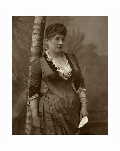 Mrs John Wood, British actress and theatre manager by Ernest Barraud