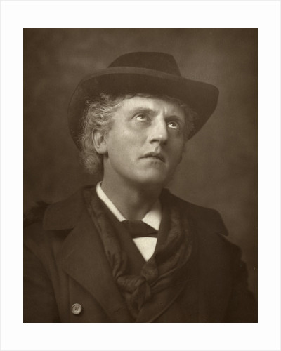 Wilson Barrett, British actor, theatre manager and playwright by St James's Photographic Co