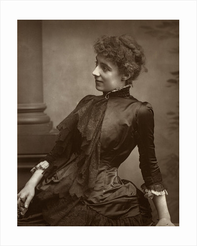 Helen Maud Holt (Mrs Beerbohm Tree), British actress by Anonymous