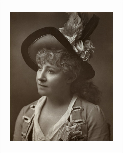 Lydia Thompson, British dancer, actress and theatrical producer by Barraud