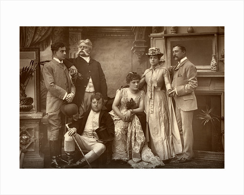 The Drury Lane Company in 'A Run of Luck', at the Drury Lane Theatre, London by Barraud