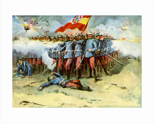 'The Last Stand', square of Spanish infantry, Spanish-American War by Anonymous