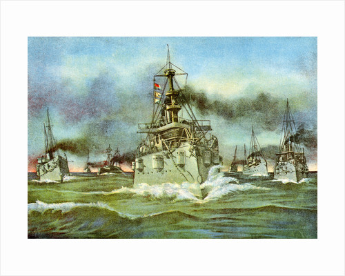 The Flying Squadron, Spanish-American War by Anonymous