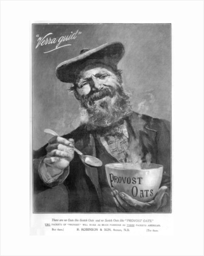 Advertisement for Provost Oats by Anonymous