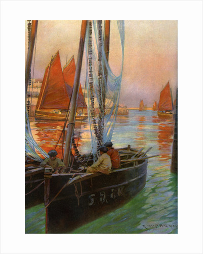 Brest Fishing Boats by Charles Padday