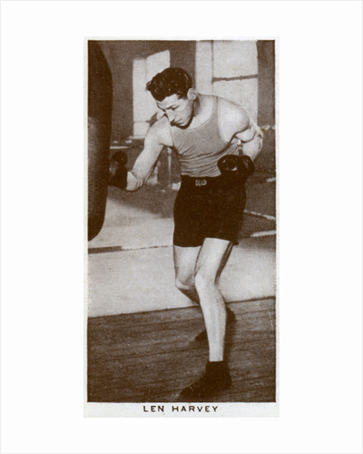 Len Harvey, British boxer by Anonymous