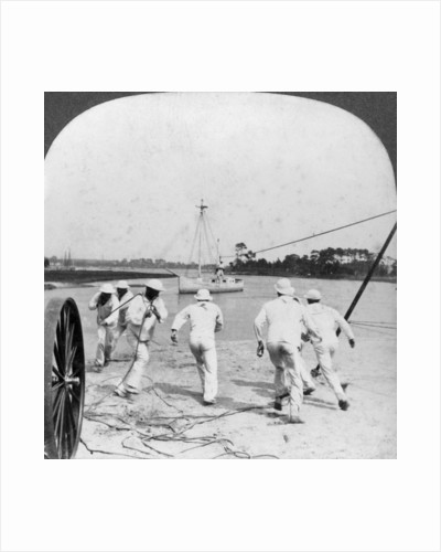 Some operations of the Life Saving Corps, Jamestown Exposition by Keystone View Company