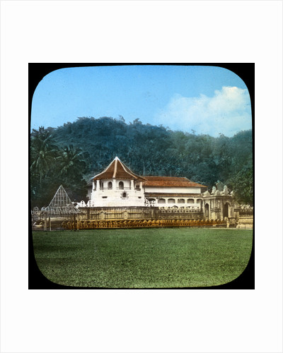 Temple of the Sacred Tooth, Kandy, Ceylon by Anonymous