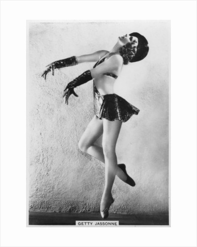 Getty Jassonne, French ballet dancer by Anonymous