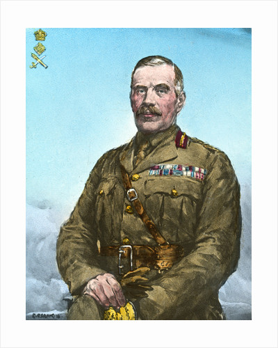 General Sir William Robertson, British soldier by Anonymous