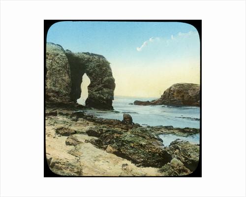 Rock arch at Perran Beach, Cornwall by Church Army Lantern Department