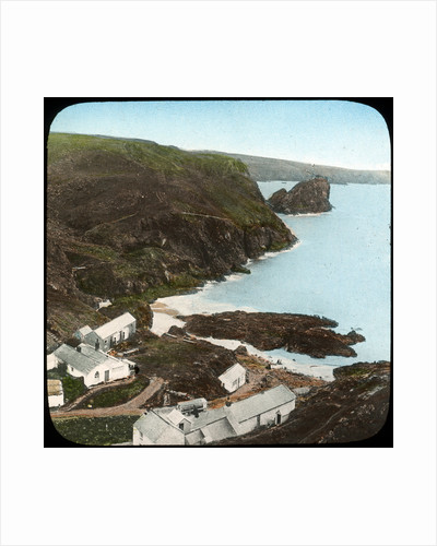Kynance Cove and village, Cornwall by Church Army Lantern Department