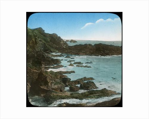 Coastal scene near the Lizard, Cornwall by Church Army Lantern Department