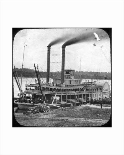 Northern Line Packet Company paddle steamer 'Lake Superior' by Anonymous