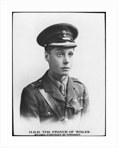 The Prince of Wales, future King Edward VIII by Anonymous