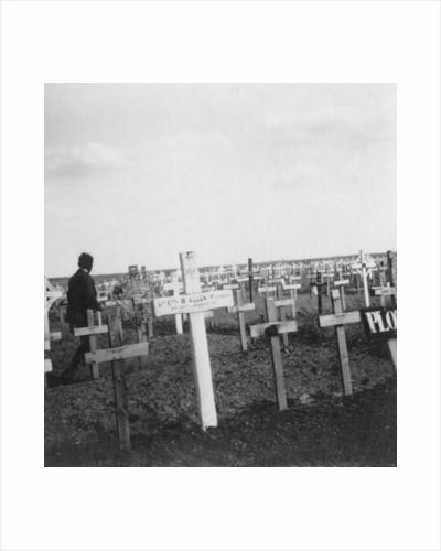 British war cemetery, Gouzeaucourt, France, World War I by Nightingale & Co