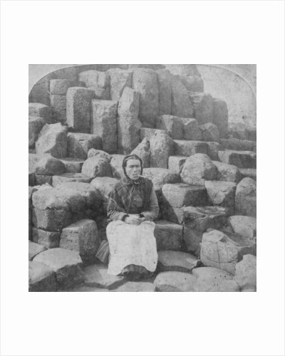 The Wishing Chair, Giant's Causeway, County Antrim, Ireland by Underwood & Underwood