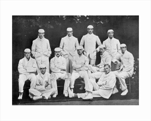 Cambridge University cricket XI by Stearn