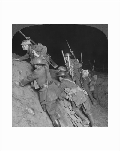'Fighting throught the night at Mory', France, World War I by Realistic Travels Publishers