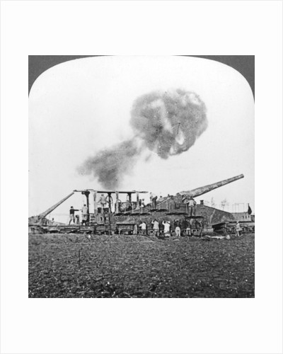 British 16 inch railway guns in action, World War I by Realistic Travels Publishers