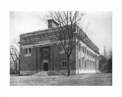 Emerson Hall, Harvard University, Cambridge, Massachusetts, USA by Anonymous