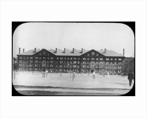 Dormitory Building, Harvard University, Massachusetts, USA by Anonymous