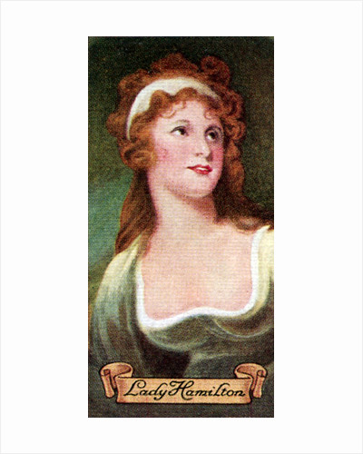 Lady Hamilton, taken from a series of cigarette cards by Anonymous