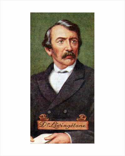 Dr. Livingstone, taken from a series of cigarette cards by Anonymous