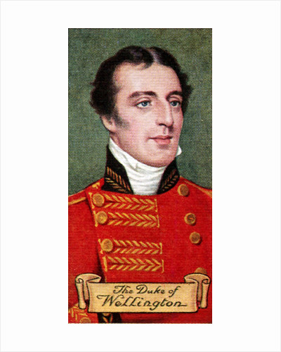 The Duke of Wellington, taken from a series of cigarette cards by Anonymous