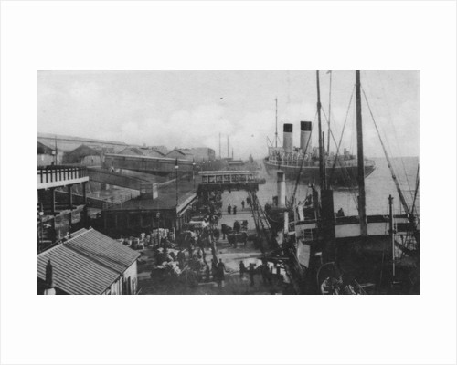Landing Stage, Liverpool Docks by Anonymous
