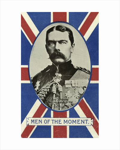 'Men of the Moment', Herbert Kitchener, 1st Earl Kitchener, Secretary of State for War by Valentine