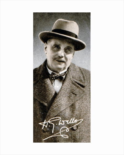 Herbert George HG Wells by Anonymous
