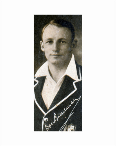 Donald George 'Don' Bradman by Anonymous