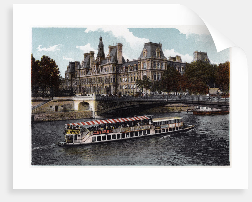 Hotel de Ville, Paris by Anonymous
