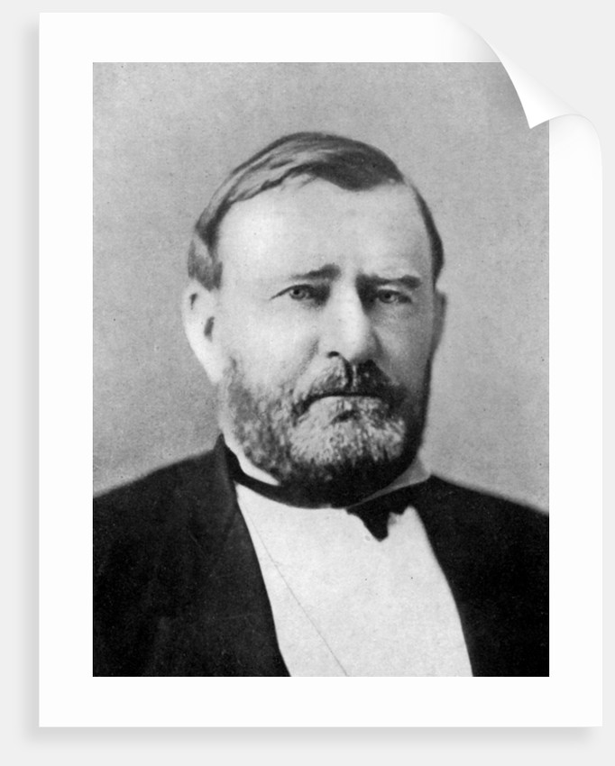 Ulysses S Grant, 18th President Of The United States