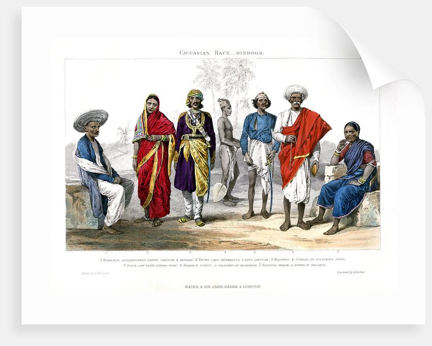 caucasian hindu