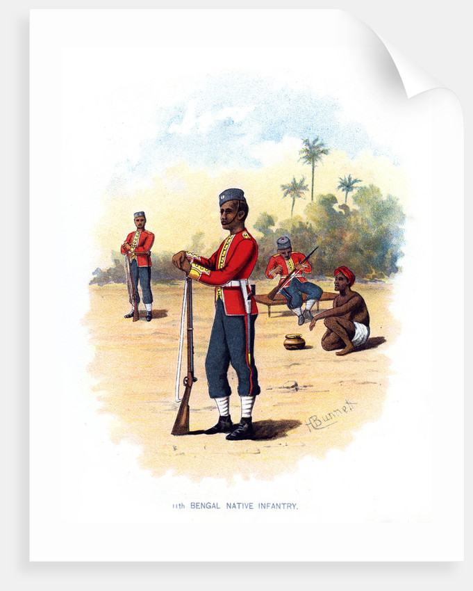 11th Bengal Native Infantry by H Bunnett