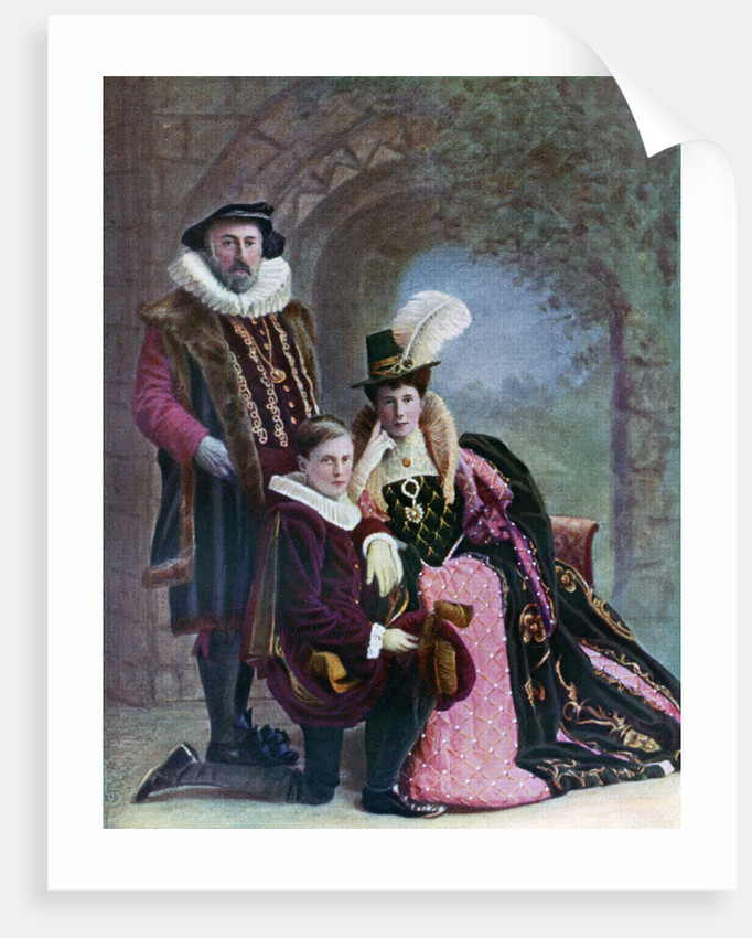 Elizabethan costume by Anonymous