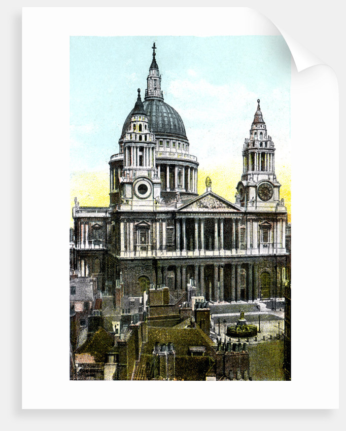 St Paul's Cathedral, London by Anonymous