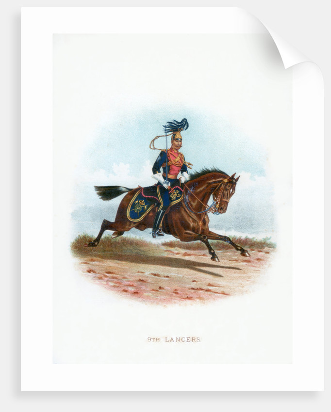 9th Lancers by Anonymous