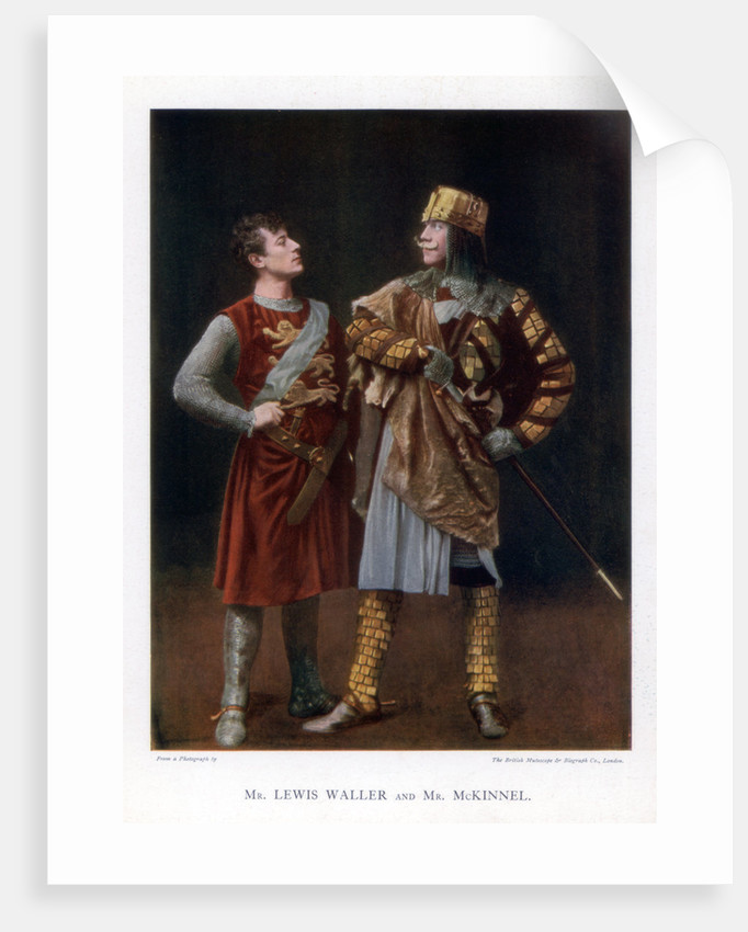 Lewis Waller and Mr McKinnel, English actors by British Mutoscope