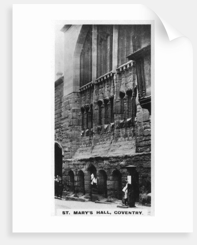 St Mary's Hall, Coventry, West Midlands by Anonymous